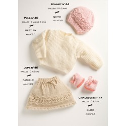 Model hat CB13-44 - Free knitting pattern