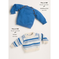 Model Jumper CB14-48 - Free knitting pattern