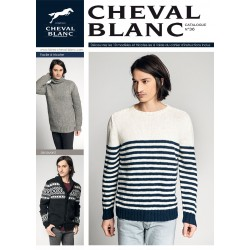 Catalogue de tricot Cheval Blanc n°35 Homme
