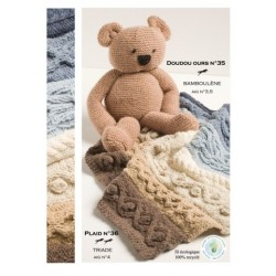 Model Bear CB15-35 - Free knitting pattern