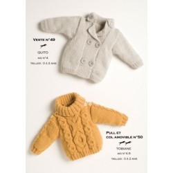 Model jacket CB15-49 - Free knitting pattern