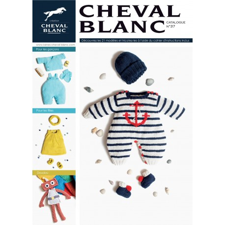 Catalogue de tricot Cheval Blanc n° 37 - Layette