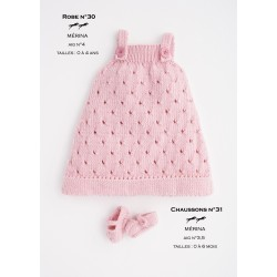 Model dress CB16-30 - Free knitting pattern