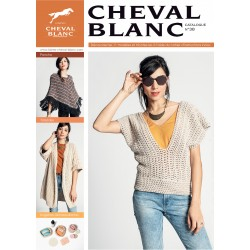 Catalogue de tricot Cheval Blanc n°38 - Printemps Eté 2020