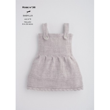 Model dress CB16-37 - Free knitting pattern