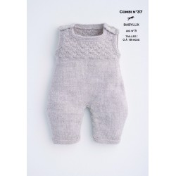 a6d8dcc4f Knitting patterns dungarees baby wear - Cheval Blanc - Laines Cheval ...