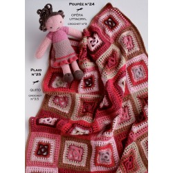 Model Doll CB17-24 - Free knitting pattern