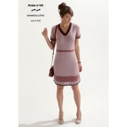 Model dress CB18-05 - Free knitting pattern
