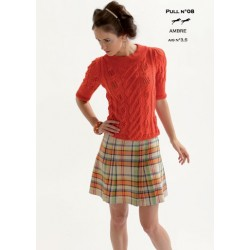 Model jumper CB18-08 - Free knitting pattern
