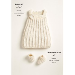 Model dress-booties CB18-26-27 - Free knitting pattern