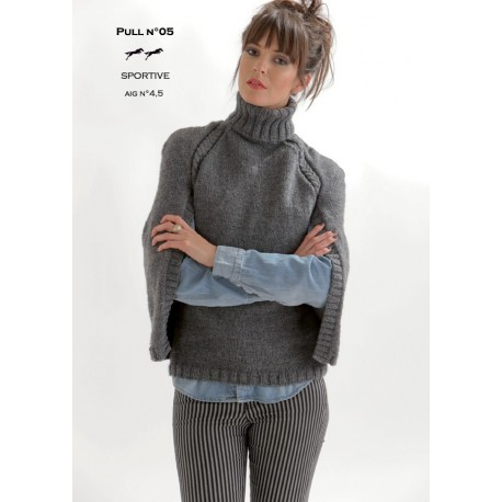Model jumper CB19-05 - Free knitting pattern