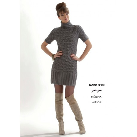 Model Dress CB19-06 - Free knitting pattern