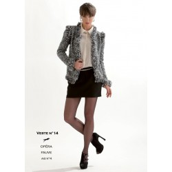 Model jacket CB19-14 - Free knitting pattern