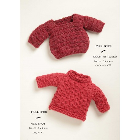 Model jumper CB19-29 - Free knitting pattern