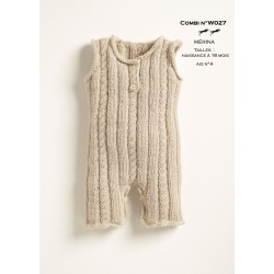 Model Combi W027- Free knitting pattern