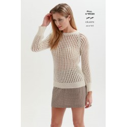 Model jumper W030- Free knitting pattern
