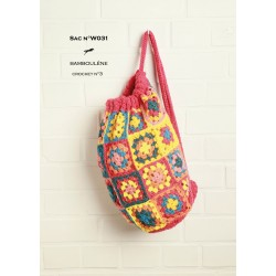 Model Bag W031- Free knitting pattern