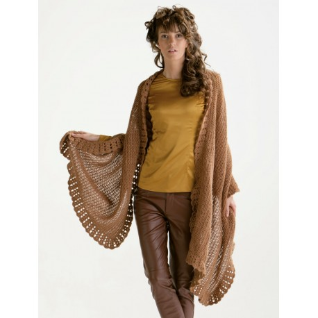 Model Shawl CB15-02 - Free knitting pattern
