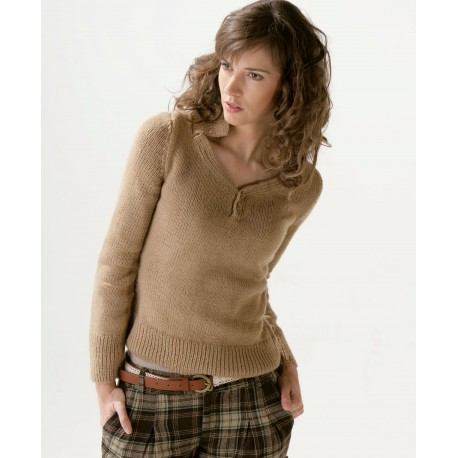 Model jumper CB15-04 - Free knitting pattern