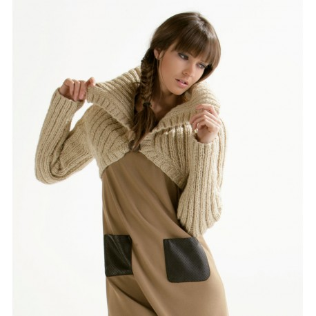 Model cardigan CB15-05 - Free knitting pattern