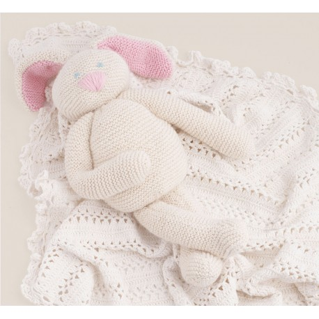 Model rabbit doudou CB16-22 - Free knitting pattern