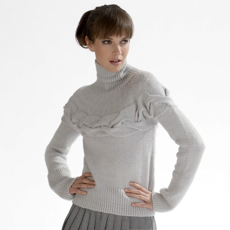 Model jumper CB17-20 - Free knitting pattern