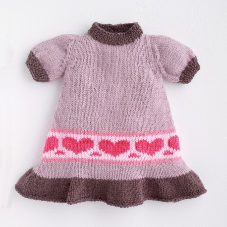 Model Dress CB17-26 - Free knitting pattern