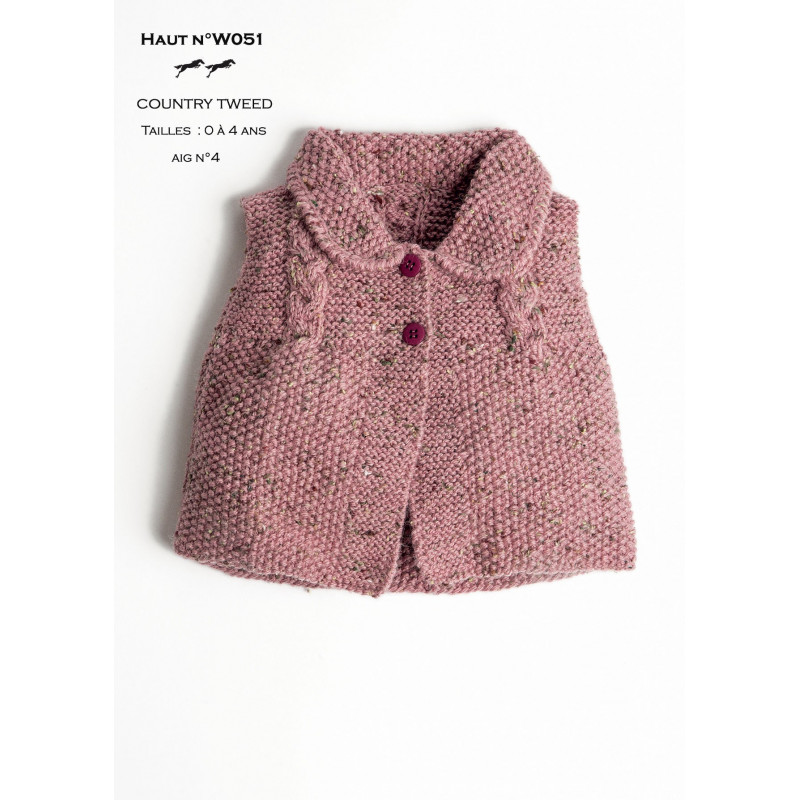 modele layette tricot