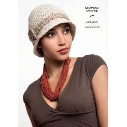 Kit crochet chapeau n°12