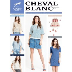 Catalogue de tricot CHEVAL BLANC N°27 Printemps-été 2018
