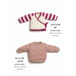 fe8682f169e6f Knitting patterns cardigan for children - Cheval Blanc - Laines ...