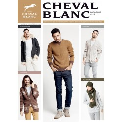 Catalogue de tricot CHEVAL BLANC N°29 homme 2018