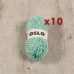 Lot pelotes de laine - OSLO - Destockage