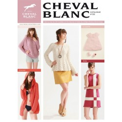 Catalogue de tricot CHEVAL BLANC N° 22 Printemps - été 2016