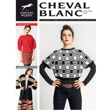 Catalogue de tricot Cheval Blanc n°34